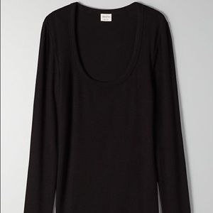 Aritzia Wilfred Free Only long sleeve shirt s